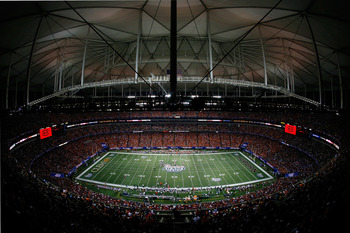 The Georgia Dome will play host to Alabama and West Virginia on Aug. 30, 2014.