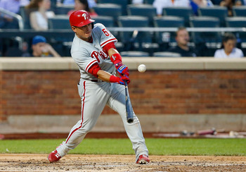 Carlos Ruiz would give the Yankees a legitimate offensive threat from the catching position.
