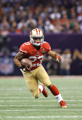 LaMichael James wants a bigger role in 2013.