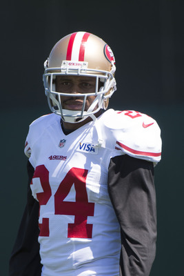 Nnamdi Asomugha is back in the Bay Area with the 49ers.