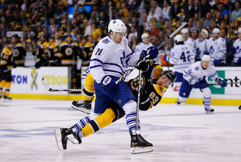 James van Riemsdyk will be motivated to step up his game another level in 2013-14.