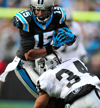 Mike Mitchell's only attempts to tackle the Panthers this season will be during practice.