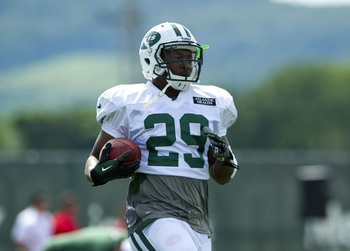 Bilal Powell is currently atop the Jets' running back depth chart.