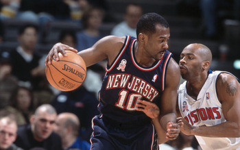 Derrick Dial played one season with the New Jersey Nets.