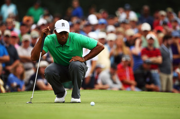 Tiger Woods just didn't make enough putts on Friday.