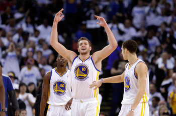 David Lee could be the weak spot in the Warriors starting five.