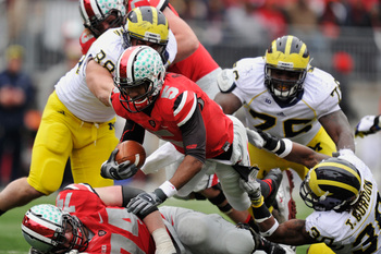 It may take gang tackles, but Michigan is capable of slowing Miller's offense