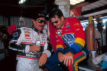 Both Dale Earnhardt and Jeff Gordon have great nicknames.