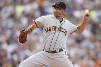 Reliever Jeremy Affeldt was one pitcher who suffered a significant injury in 2013.