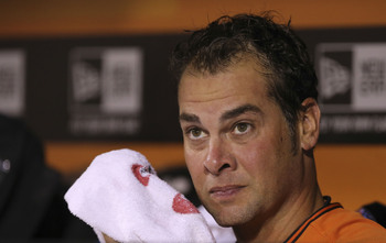 Starting pitcher Ryan Vogelsong missed the majority of 2013.