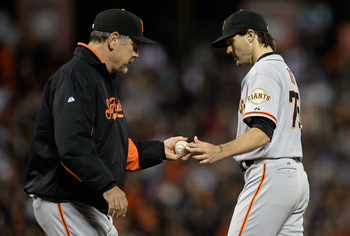 Starter Barry Zito has not emulated his 2012 success.