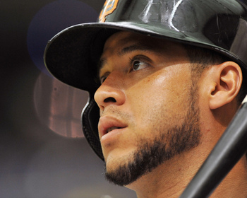 Giants' outfielder Gregor Blanco could not adequately produce as a leadoff hitter.