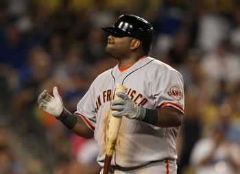 Pablo Sandoval epitomizes the Giants' offensive frustrations in 2013.