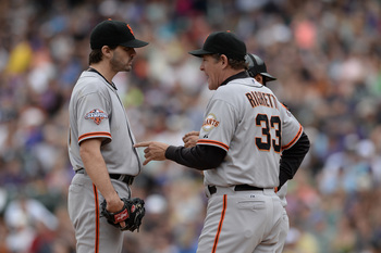 Barry Zito (left) has not repeated his 2012 success.