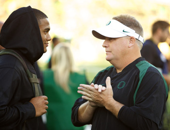 Thomas Tyner will be playing in Autzen soon, though former coach Chip Kelly won't be on hand