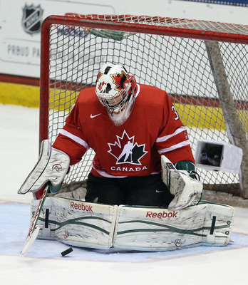 Fucale could be Canada's goalie at the next World Junior Hockey Championships.