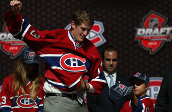 The Habs hope McCarron will provide needed size and toughness up front.