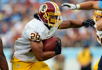 Can Roy Helu, Jr. nail down his spot as third-down back?