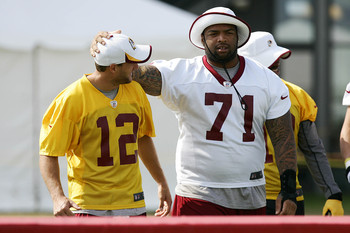 Trent Williams will look to build on last year's Pro Bowl season.