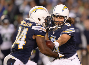 Whittaker (34) is trying to woka-woka-walk on to the Chargers final roster.