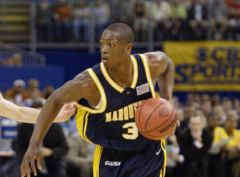 Dwyane Wade blossomed at Marquette, and Pat Riley took a shot on his talent.