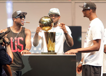 After a rocky start, the Heat's Big 3 keep coming up roses... and rings.
