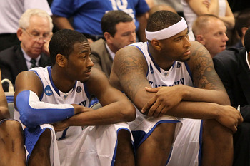 John Wall (left) and DeMarcus Cousins (right) coexisted as stars in John Calipari's system.