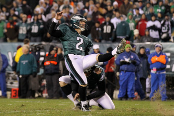 David Akers made his third of six career Pro Bowls to date in 2004.