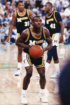 Rumeal Robinson's free-throws won Michigan its only national championship.
