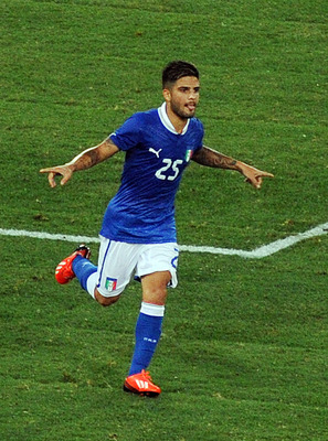 Insigne scores a fantastic goal to give Italy hope