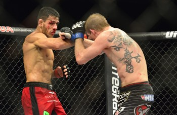 Rafael dos Anjos has pundits split on whether he is a legitimate contender.
