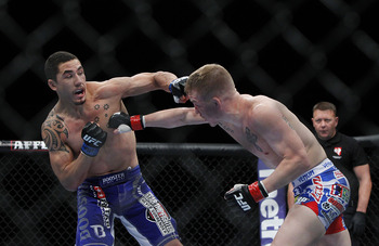 Robert Whittaker is quickly becoming one of Australia's finest fighters.