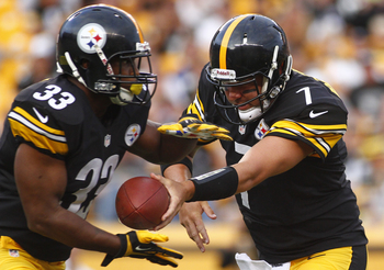 The Steelers earned yards, but could not convert their hard work into touchdowns.