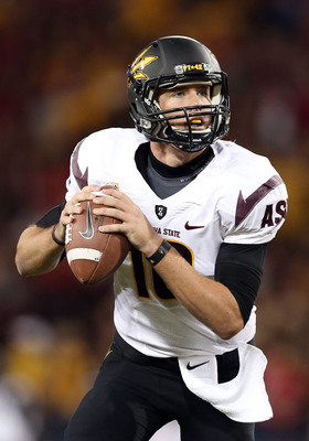 Arizona State junior quarterback Taylor Kelly.