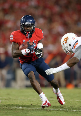 Arizona junior running back Ka'Deem Carey.