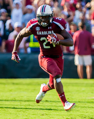 Running back Marcus Lattimore went down in 2013 with a devastating knee injury, but the Gamecocks still finished with 11 wins.