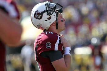 Connor Shaw was banged up in 2012, but he powered through most of his injuries.  Can he stay healthy in 2013?