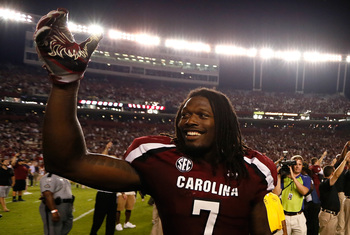 Jadeveon Clowney is looking to win the second Heisman in South Carolina school history.