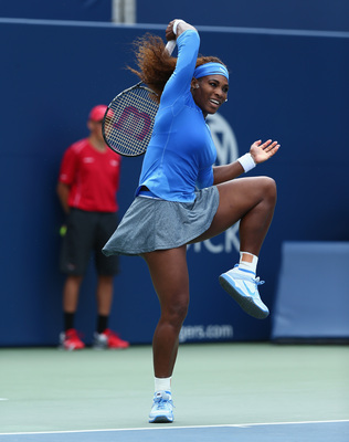 Serena Williams, winning