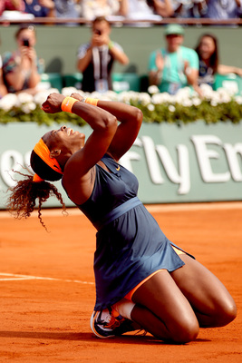 Serena Williams loving France, again