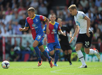 Gayle was a lively presence upfront for Palace.