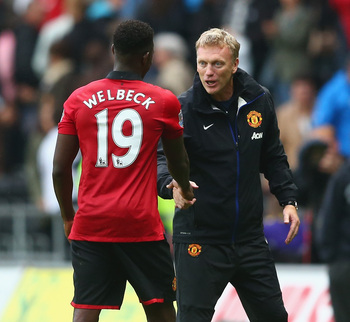 David Moyes must've liked what he saw from Welbeck.