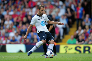 Soldado strokes home from 12 yards in an almost leisurely fashion.