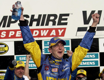 Kurt Busch stood tall at the end of 300 miles at New Hampshire in 2004, winning the first race of in the history of the Chase.