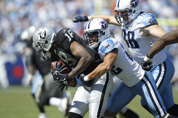 The Titans opened up 2010 with a win over the Raiders.