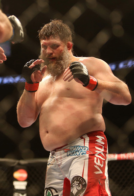 UFC heavyweight Roy Nelson.