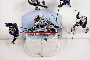 Niklas Backstrom will likely have a major part in the outcome of the season for the Wild.