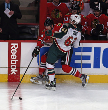 Charlie Coyle will continue to add necessary toughness to the Wild.