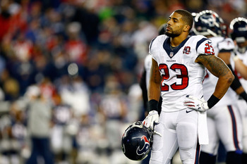 The Texans' playoff chances could hinge on the health of Arian Foster.