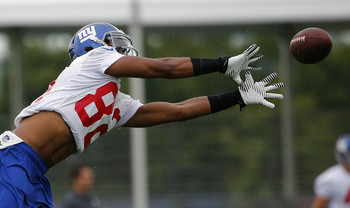 WR Rueben Randle has been the talk of training camp.
